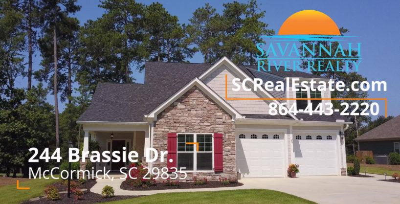 244 Brassie Drive, McCormick SC 29835