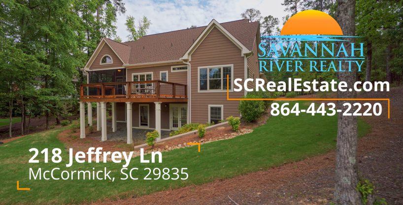 218 Jeffrey Lane, McCormick, SC 29835